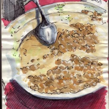 La Jamonería. Inc & Watercolor