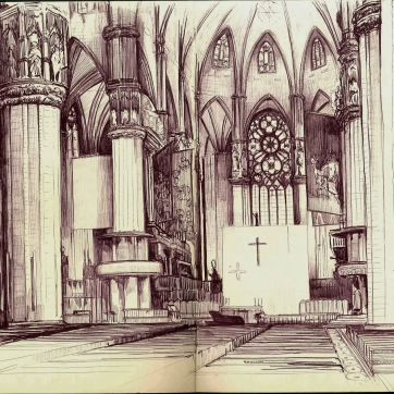 Duomo. Milan. Bic